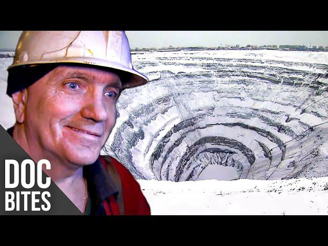 Diamond Mining - Inside the largest Mine in the World | Free Short Documentary